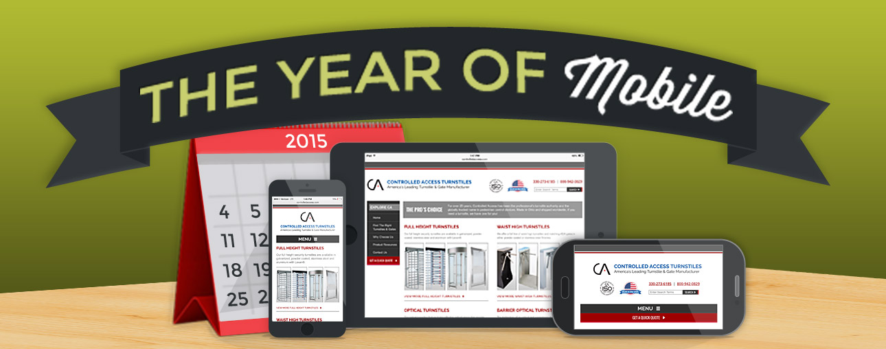 2015 The Year of Mobile Web Design