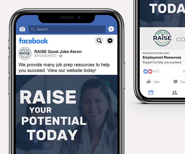 RAISE brand messaging
